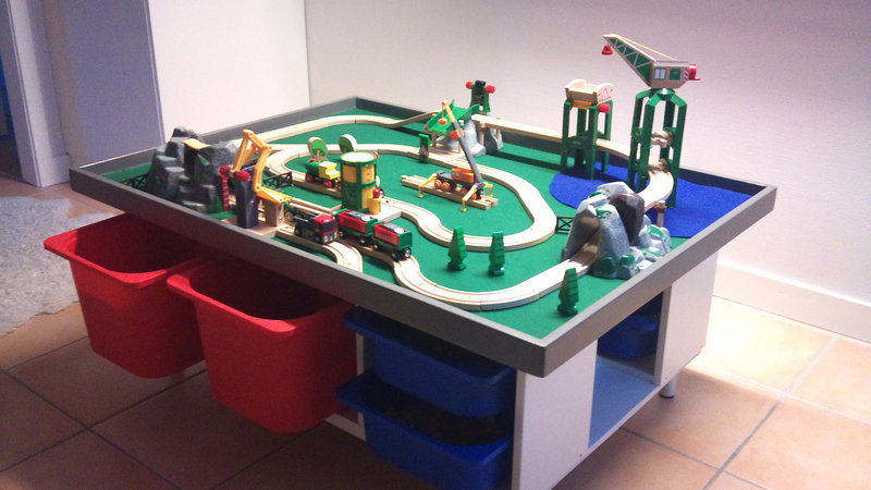 Trofast play table Get Home Decorating