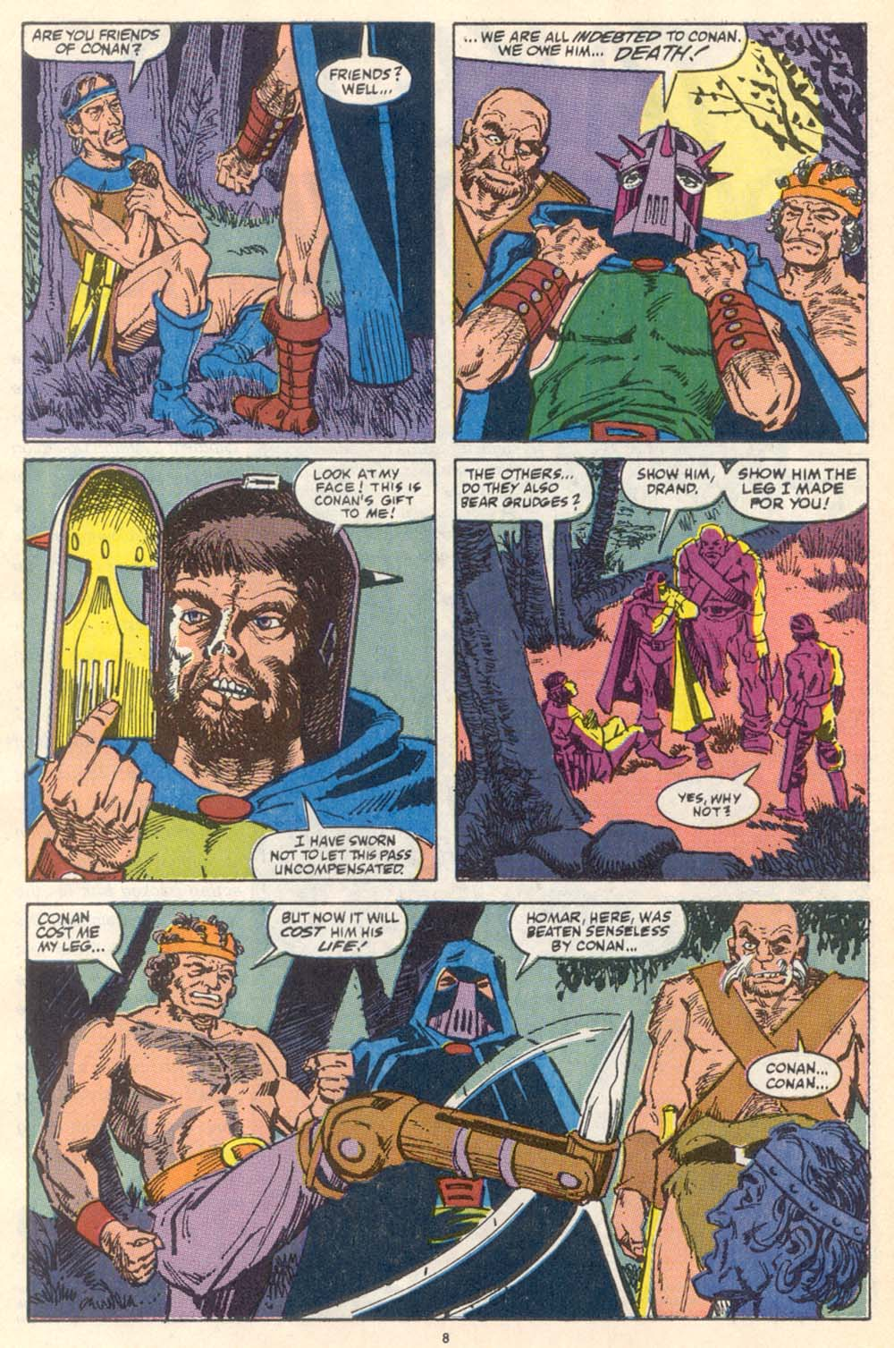Conan the Barbarian (1970) Issue #222 #234 - English 7