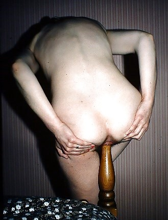 The girl fucking the bedpost simply