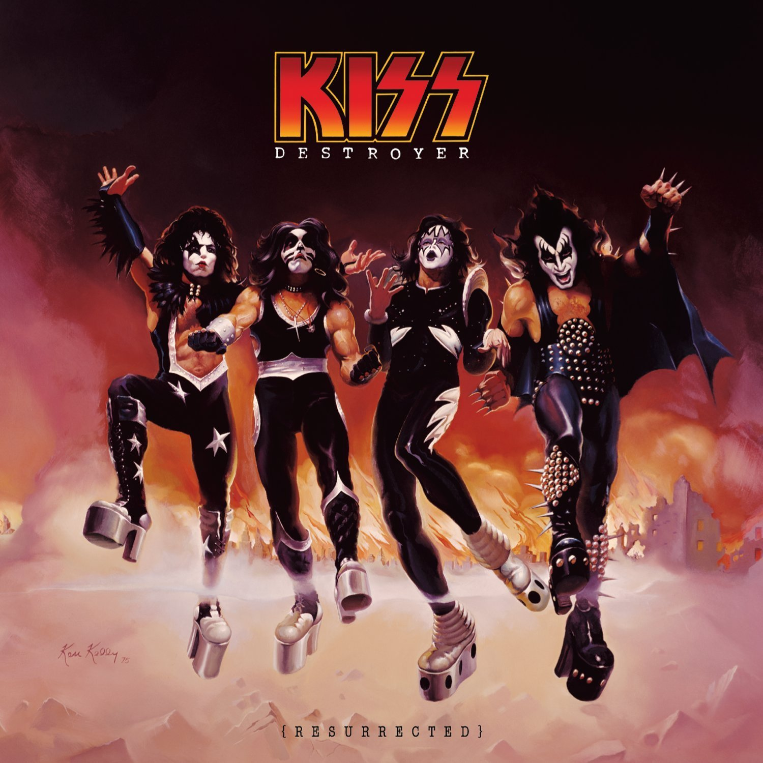 Albums: EL HiNO's Show Room: KISS ARMY COVER SKETCHES