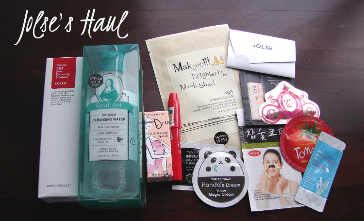 Jolse.com Cosmetics Haul and Review