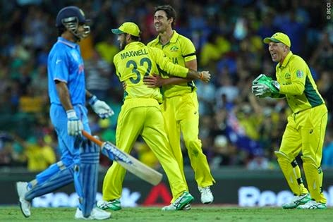 Australia won by India by 95 runs