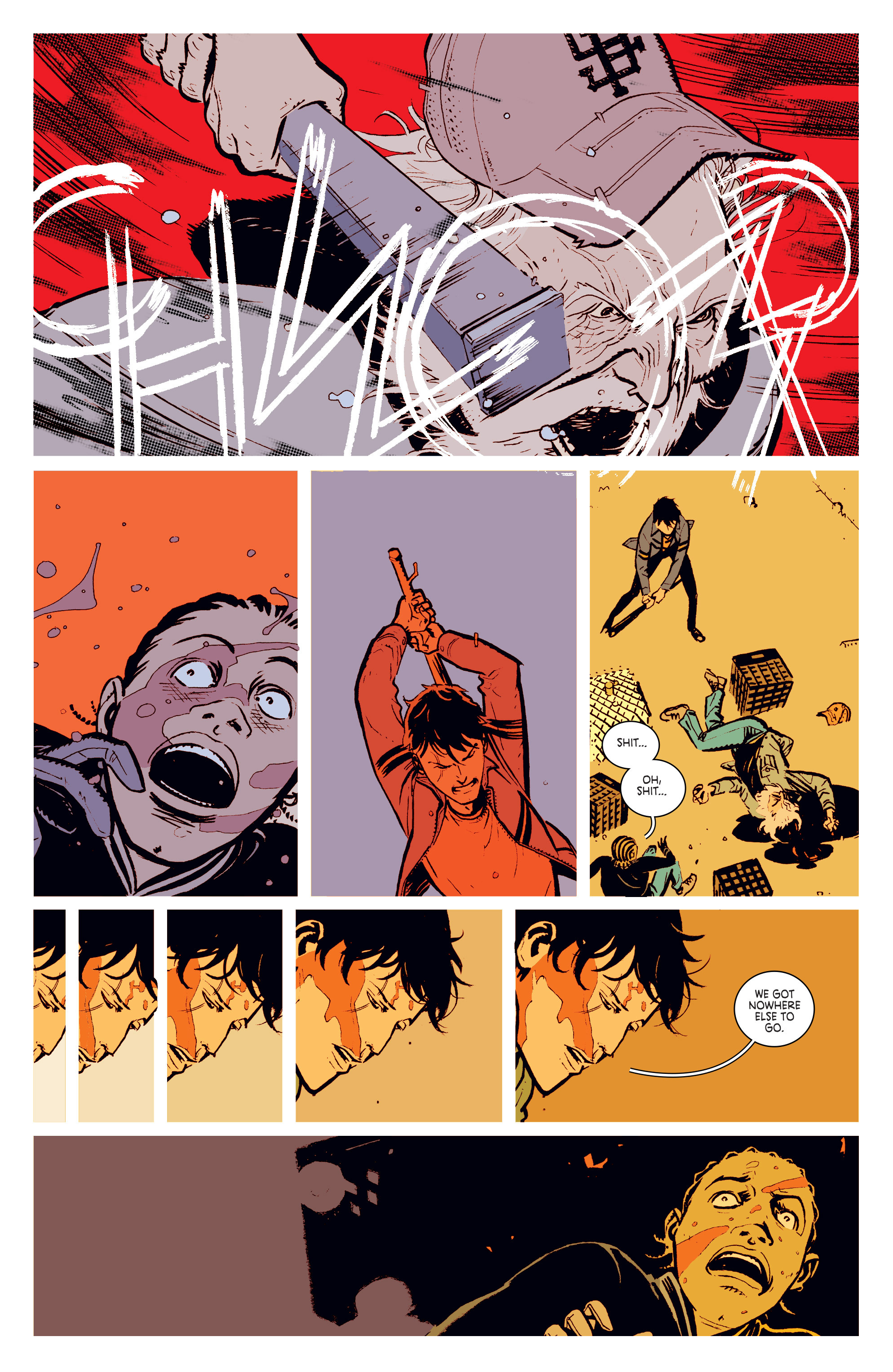 Read online Deadly Class comic -  Issue #3 - 22