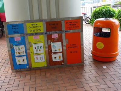 Raccolta differenziata Hong Kong