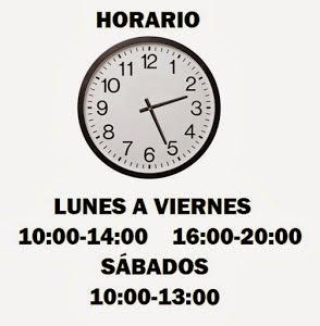 HORARIO DE APERTURA