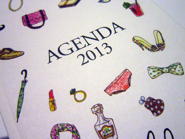 agenda 2013 my little box mylittleparis