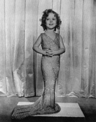 Shirley Temple as Mae West 1933