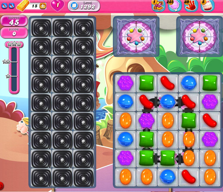 Candy Crush Saga 1292