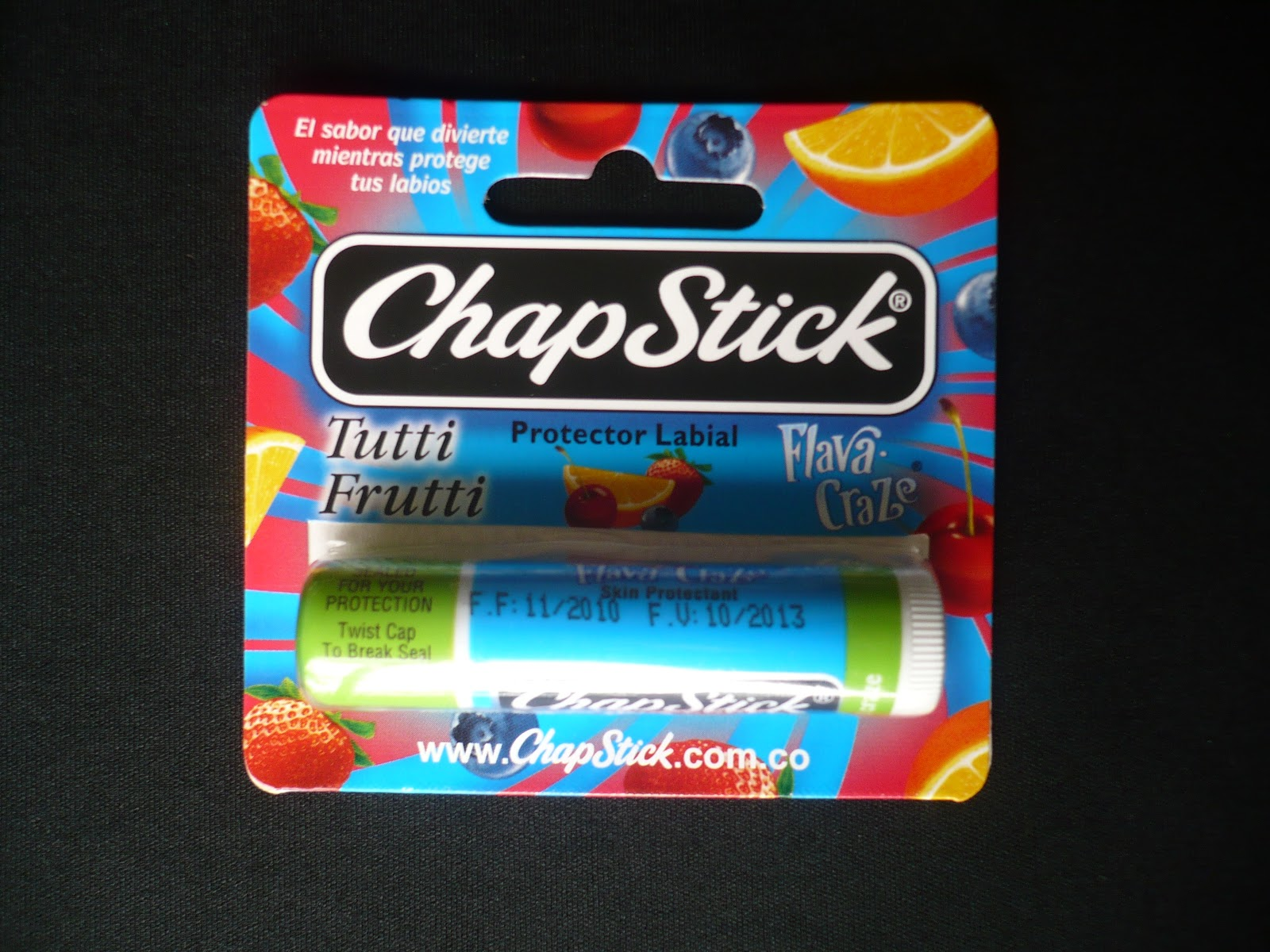 ChapStick Fruit Craze, opiniones swatch review
