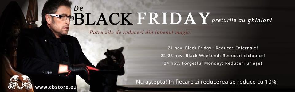 Black Friday la CB Store