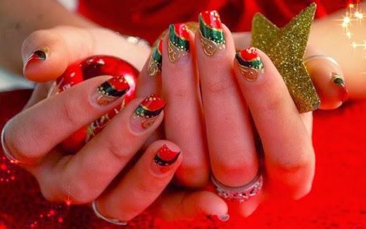 Latest New Year Winter Nail Art Designs 2015 Health Beauty