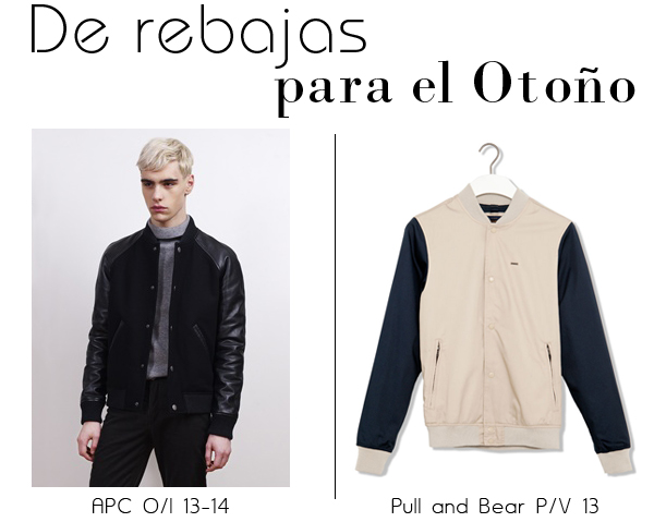 Bomber Jacket, APC, pull and bear