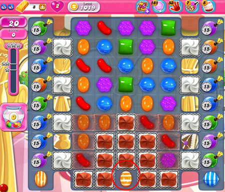 Candy Crush Saga 1019