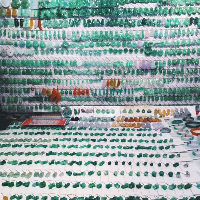 jade market in Hong Kong YMT