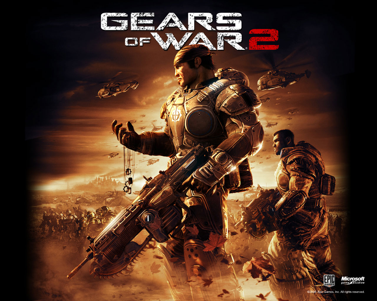 Gears of War HD & Widescreen Wallpaper 0.424943573895144