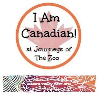 I Am Canadian Ottawa Valley Fiber Arts