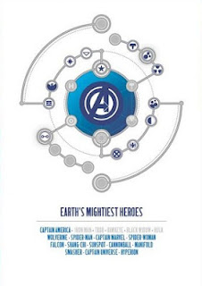 Avengers cast of characters Jonathan Hickman graphic design