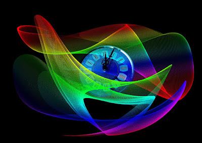 http://pixabay.com/en/clock-wave-lines-sylvester-331174/