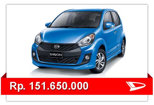 Update Harga Mobil Daihatsu Sirion Terbaru 2015