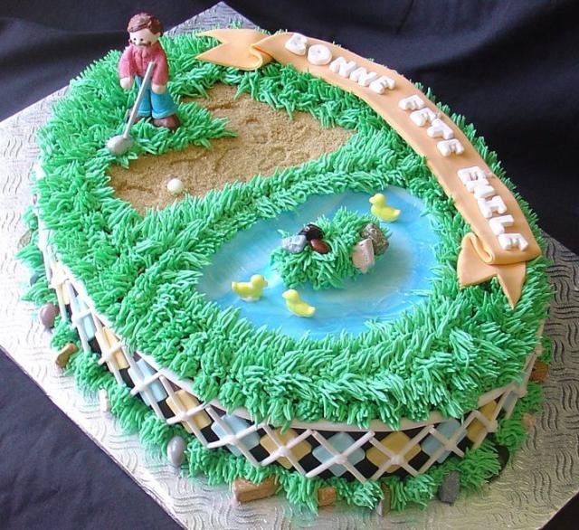 Images Of Birthday Cakes  Golf Birthday Cake  Birthday Cake ...