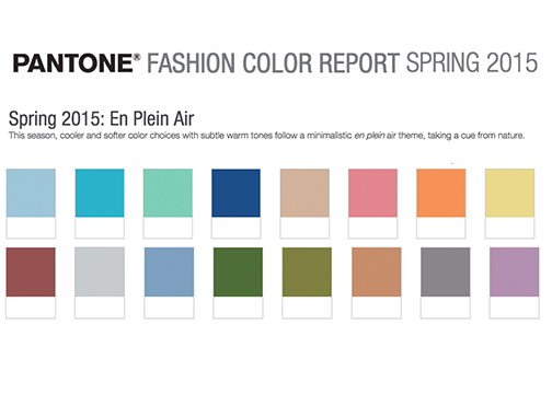 The Friday Five: Pantone Color Report Spring 2015 + Links Love | Pennies & Paper Blog
