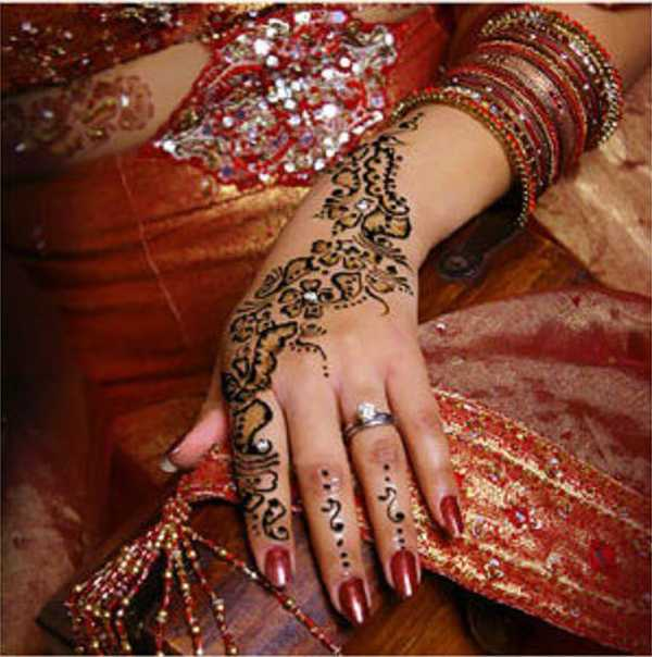 Mehndi Images For Bridal : Indian wedding mehndi for brides shadi pictures