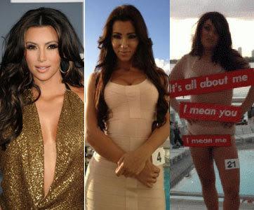 Kontes Mirip Kim Kardashian