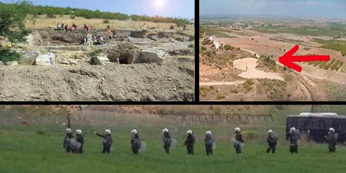 ΕΚΤΑΚΤΗ ΕΠΙΚΑΙΡΟΤΗΤΑ: Μεγαλειώδης τάφος 900 τ.μ. στην Αμφίπολη αποκαλύπτεται λόγω κατάρρευσης από διάβρωση