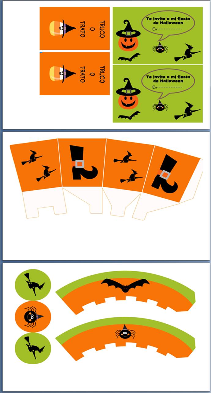 imprimible gratuitos Halloween
