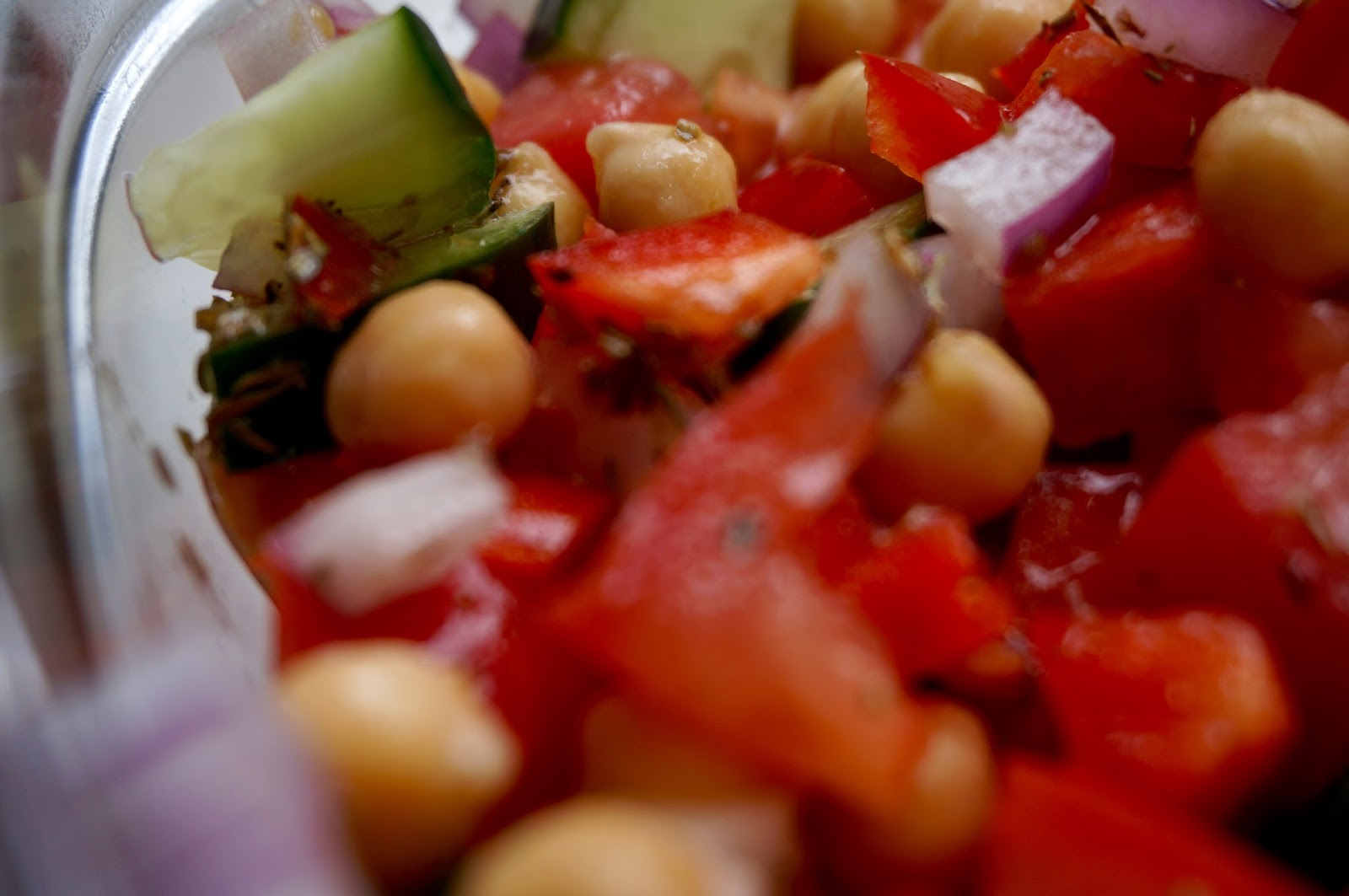 20 Minute Greek Salad Recipe - greysuede.com