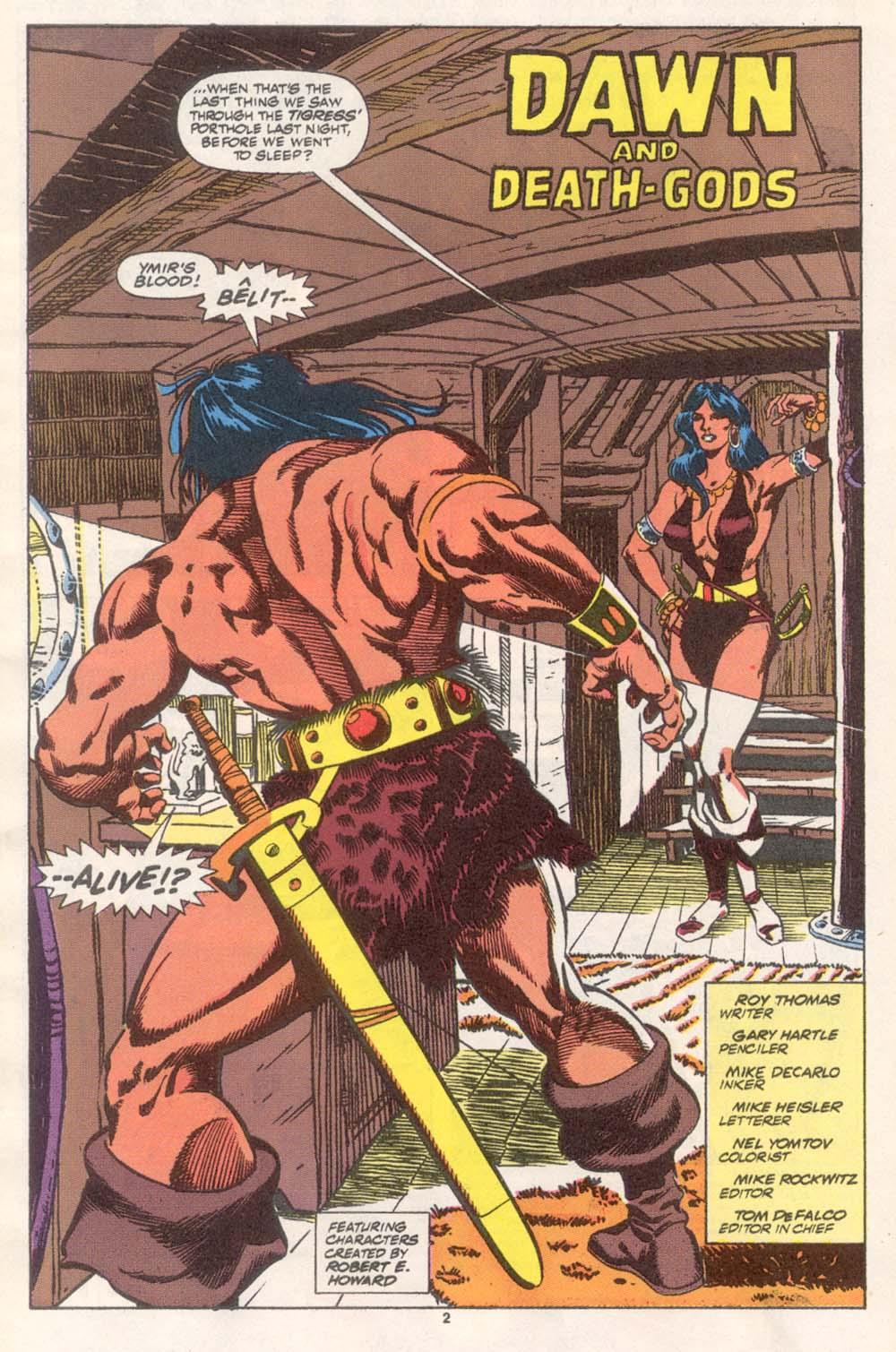 Conan the Barbarian (1970) Issue #243 #255 - English 3