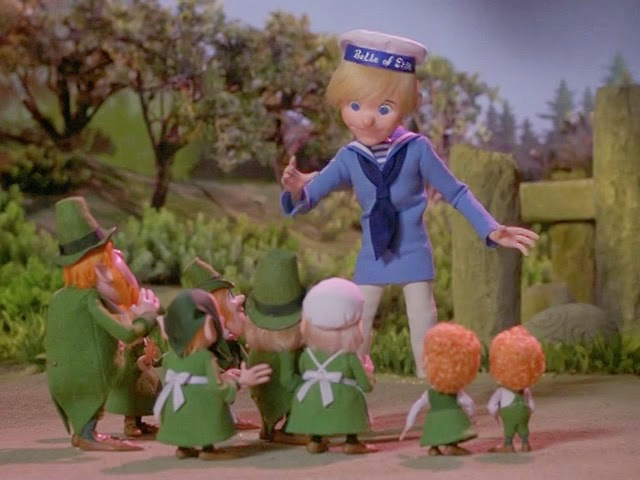 Rankin/Bass-historian: RANKIN/BASS' THE LEPRECHAUNS' CHRISTMAS GOLD