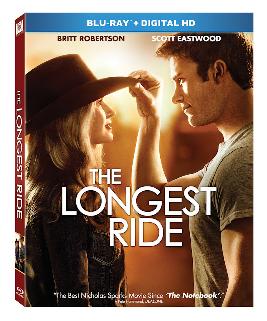 The Longest Ride Bluray Giveaway