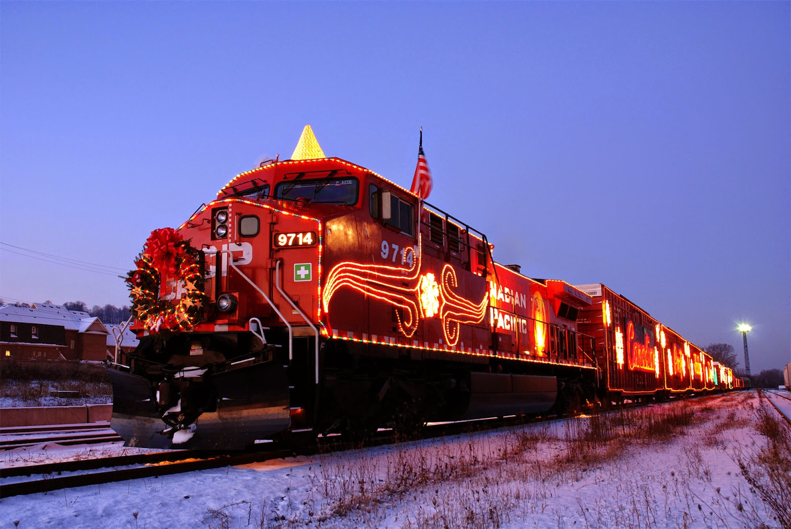 the cp rail holiday train is coming your way
