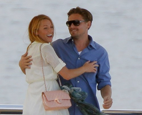 Legend Player Team Leonardo Dicaprio Y Blake Lively Juntos A Bordo