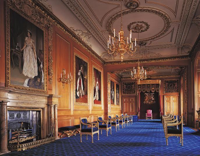 Monarki raja singgahsana istana buckingham london for Interieur windsor