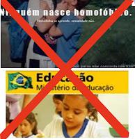 DIGA NÃO A CARTILHA GAY