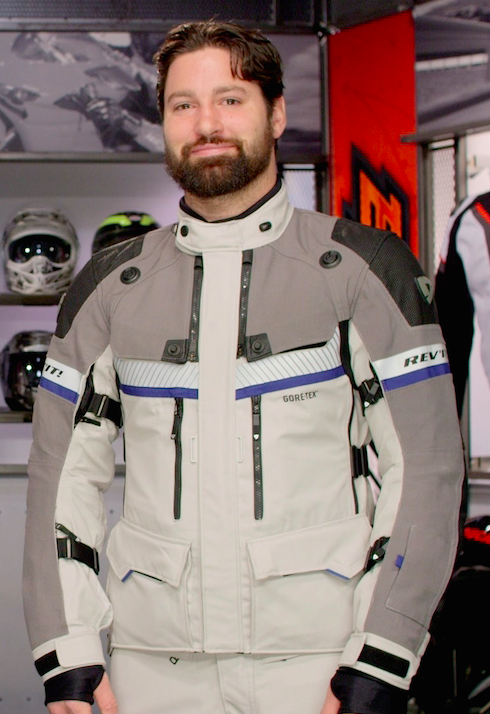 REV'IT! Dominator GTX Motorcycle Jacket