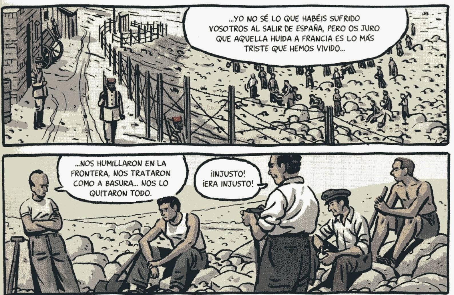 «Fue en España donde mi generación aprendió que uno puede tener razón y ser derrotado...» (Albert Camus)