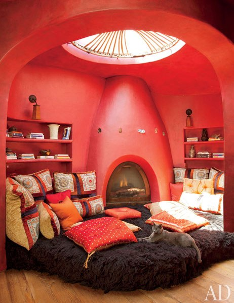 World of architecture will smith 39 s family house california Cool chill room ideas