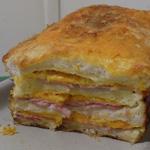 Croqu'cake au roquefort ou autre fromage