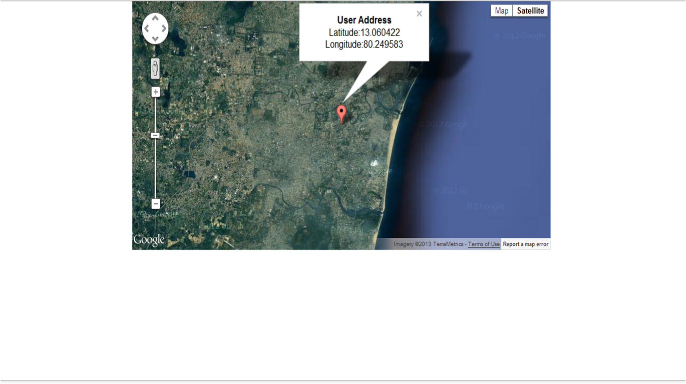 Kumaran Show Your Current Location In Google Maps Using ASP - Google map user location
