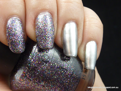 OPI Mad As A Hatter and Layla Metal Chrome