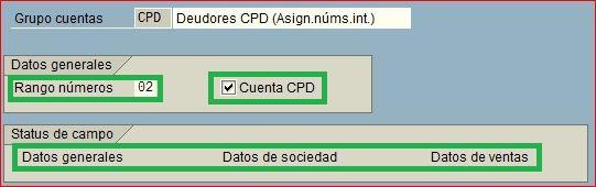 Parametrización de clientes CPD