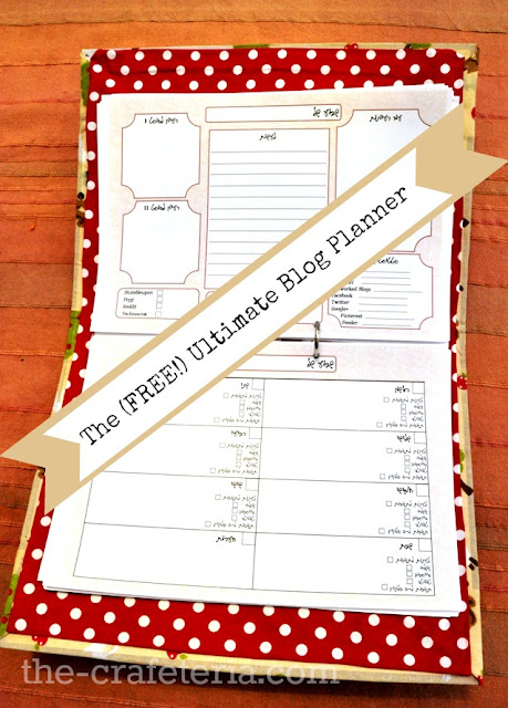 The (FREE!) Ultimate Blog Planner