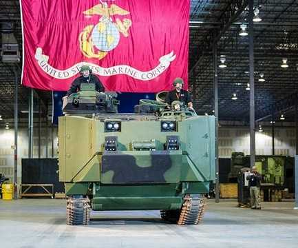 Perusahaan SAIC AS Memperkenalkan Upgrade Pertama AAV LVTP-7 Untuk Korps Marinir AS