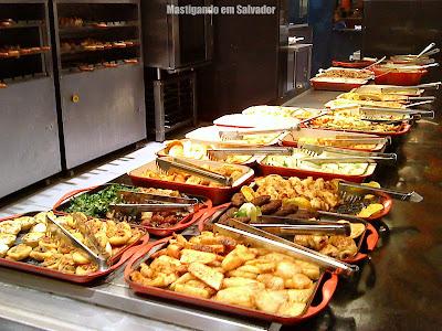 Clube do Churrasco: Opções do buffet
