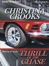 book cover Thrill of the Chase by Christina Crooks