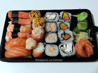 Sushi In Kasa: Combinado Inkasa Osaka 20 peças