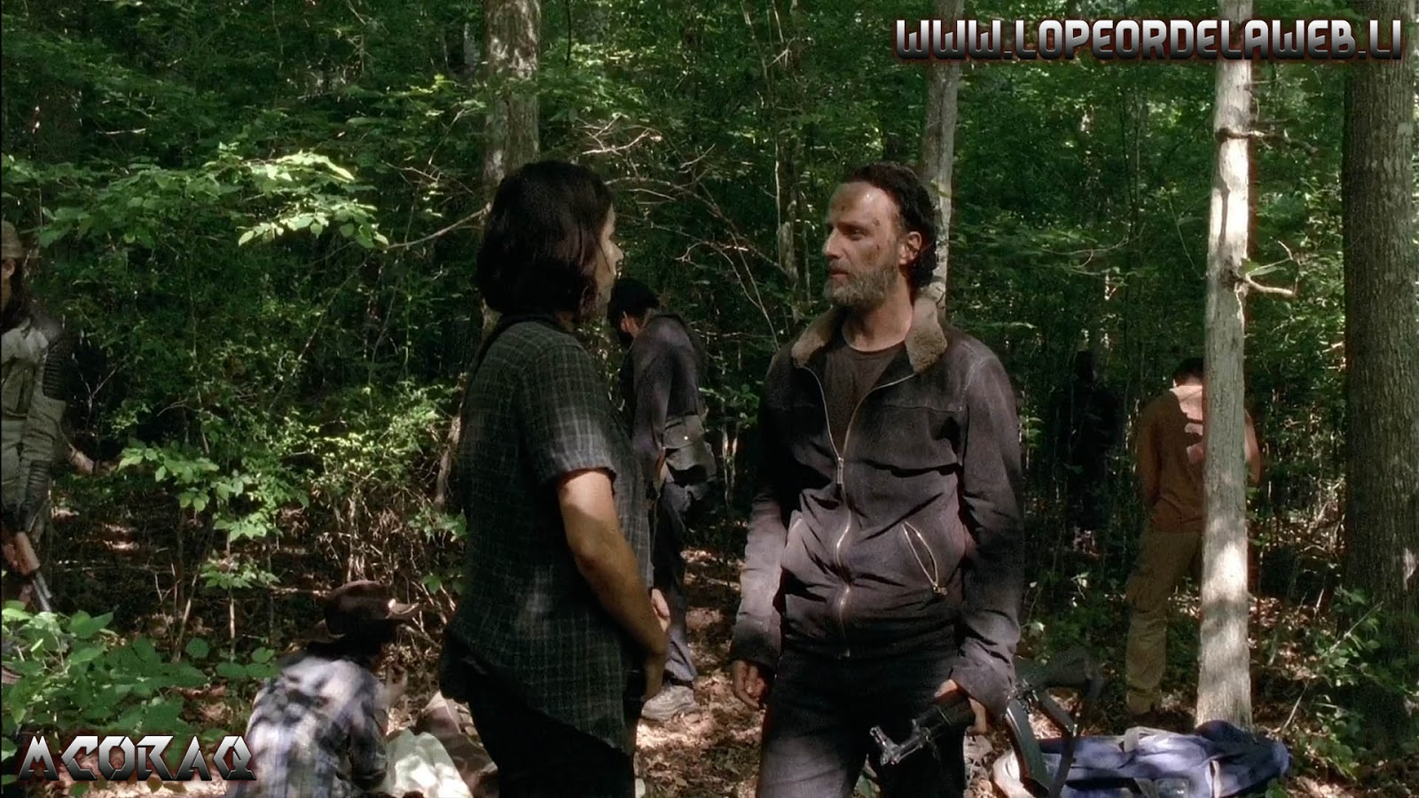 The Walking Dead - T5 -01 Al 08 [Web-Dl-1080p][Ingles + Sub]
